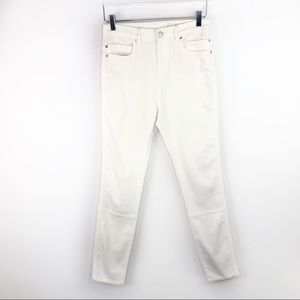 Sass & Bide White Skinny Pants Stretch Jeans Denim